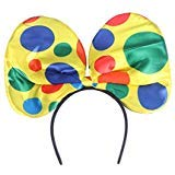 EBTOYS Clown Headband Hair Hoop Headwear for Halloween Carnival Circus Costume Fancy Dress Woman Hairband]()