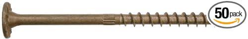 Simpson Structural Screws W100 50Pc 8 Struc 6L Screw