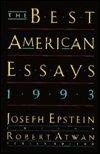 Best American Essays, 1993, Epstein, Joseph, 0395636485