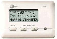 AT/&T 325 Adjunct Caller ID Unit