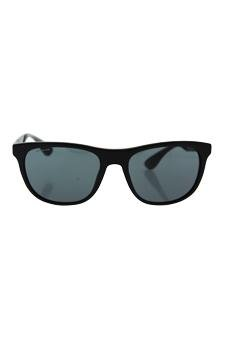 400ba562a92 Amazon.com   Prada Spr 04s 1bo-1a1 - Matte Black grey Gradient Sunglasses  For Men   Beauty
