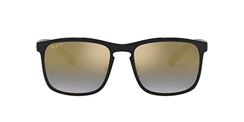 Ray-Ban Men's Rb4264 Chromance Mirrored Square Sunglasses