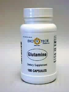 BioTech Pharmacal - Glutamine - 100 Count