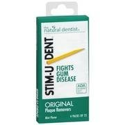 Stim-U-Dent Plaque Value Pack Removers, Mint (Removers Stimudent Mint Plaque)