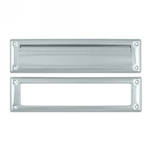 Deltana MS211U26 13 1/8-Inch Mail Slot with Solid Brass Interior Frame - Magazine Mail Slot
