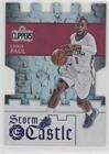 Blue Excalibur Castle (Chris Paul #/199 (Basketball Card) 2016-17 Panini Excalibur - Storm the Castle - Blue #14)