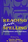 Reading and Spelling : Development and Disorders, , 0805827730