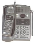 Sony SPP-A946 900 MHz Analog Cordless Phone with Answering Device (Gray)