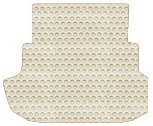 Mercury Milan Custom-Fit All-Weather Rubber Floor Mats Trunk Area - Gas Models - Ivory (2006 06 2007 07 2008 08 2009 09 2010 10 ) AMS9V7K435164||804PA524 by Lloyd Mats