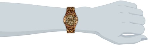 Guess damen armbanduhr analog quarz edelstahl messing w0084l1