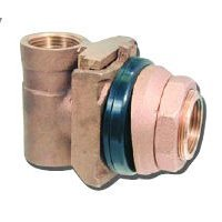 Bur-Cam Pumps 150155 1 in. Pitless adaptors - Bronze