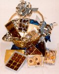 Sugar Free Candy & Chocolate Kosher Variety Gift Basket by Diabetic Candy perfect for Chanukah ()
