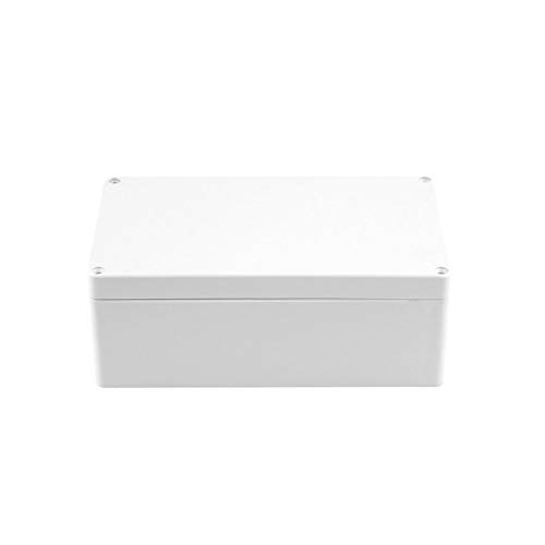 Florencenid IP66 Waterproof Plastic Electronic Junction Project Box Enclosure Case for Electronic for PCB with Transparent 200x120x75mm
