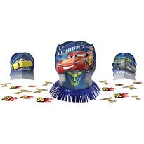 amscan Cars 3 Table Decorating Kit 23 Piece Centerpiece -