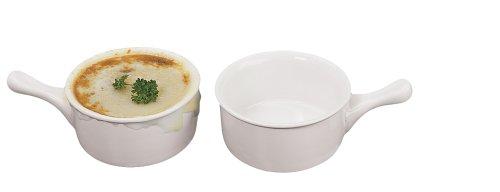 - Fox Run Ceramic French Onion Soup Crock Bowls, Set of 2