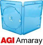 Amaray - Juego de fundas para Blu-ray (14mm, 25 unidades)