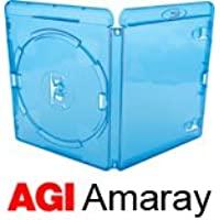 AMARAY Blu-Ray Cases - 14mm Spine - (10 Pack)