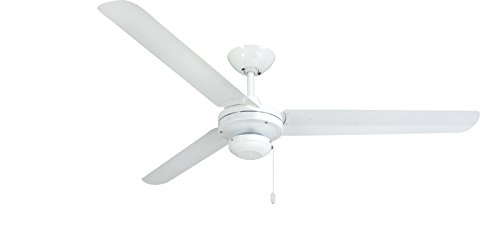 TroposAir 56 Tornado Pure White Industrial Ceiling Fan