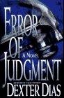 Error of Judgement, Dexter Dias, 0892966513