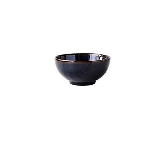 Hotel restaurant set table kiln change ceramic dishes restaurant tableware bowl 5.25 inches ()