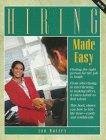 Hiring Made Easy, Patty Marler and Jan B. Mattia, 0844260509