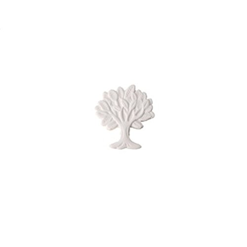 36piezas decoración chiudipacco Árbol de la vida boda nacimiento bautizo blanco alerello 5cm
