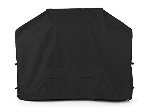Covermates: Smoker Cover - Fits 22 Inch Diameter and 32 Inch Height - Ultima Ripstop - 600D UV/Water Resistant Poly - Covered Vent - Locking Drawcord for Secure Fit - 7YR Warranty- Ripstop Black - Covers Covermates Smoker