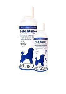 PetNatura Champú Pelo Blanco 250 ML. para Perros y Gatos