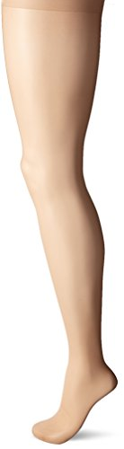 Nylon Sheer Pantyhose (L'eggs Women's Sheer Energy 2 Pair Control Top Sheer Toe Medium Support Panty Hose, Nude, Q+)