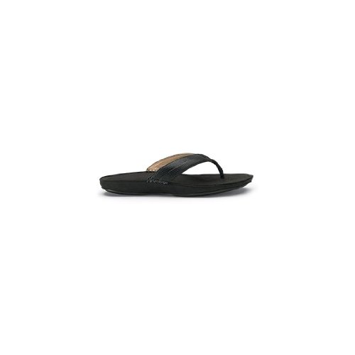 Olukai Haiku Elua Sandal - Womens Black / Dark Shadow UCqvYOHyr
