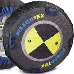 Fix and Go Pair of Snow Socks (alternative to chains) for Tyre Size - 245/40/18 Kit H FIX245/40/18