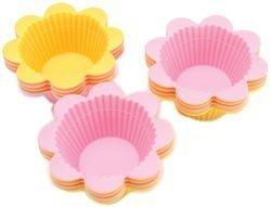 Flower Wilton Silicone (Wilton Flower Silicone Fun Cups)