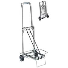 Sparco Products : Compact Luggage Cart,150 lb Cap,Open Dim 14-3/4''x13-3/4''x35'' -:- Sold as 2 Packs of - 1 - / - Total of 2 Each