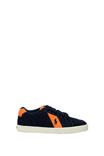Hugh C2064 Sneaker Polo Scarpa Blu Man Lauren Shoe Uomo Ralph BBfqwRv