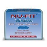 Nu-Fit Adult Diapers - Large 72/cs