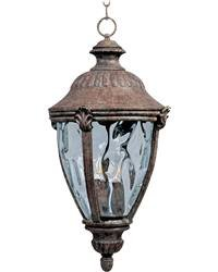 Maxim Lighting 30291WGET 3 Light Morrow Bay Outdoor Pendant,