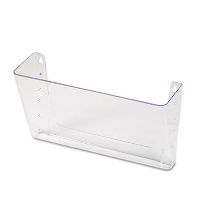 Add-on Pocket for Wall File, Letter, Clear, Total 4 EA, Sold as 1 Carton