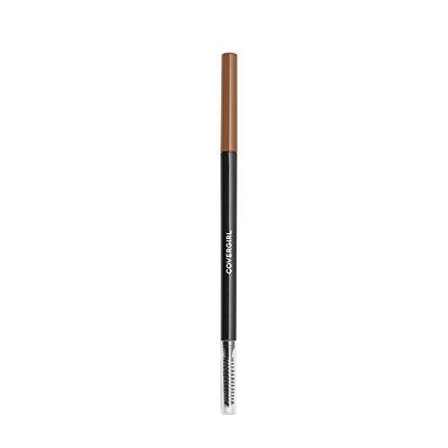 COVERGIRL Easy Breezy Brow Micro-Fine + Define Pencil, Honey Brown, 0.03 Pound (packaging may vary) (Best Dark Brown Eyebrow Pencil)