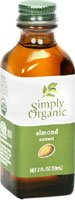 - Simply Organic Extract Almond Org