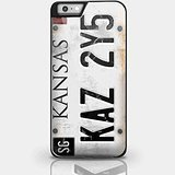 Supernatural Car Number Plate for Iphone and Samsung Galaxy Case (iPhone 6 plus Black) (Cases 4s Supernatural Galaxy)