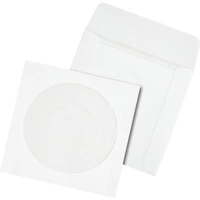 QUA77203 - Quality Park Tech-No-Tear CD/DVD Sleeves