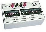 Decade Box, Capacitance / Resistance, 13, 0 ohm to 9.999999Mohm / 0µF to 99.9999µF, 4 %, OS Series by IET Labs