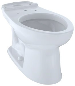 1.28 gpf Elongated Floor Mount Toilet Bowl