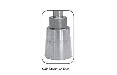 C.S. Osborne & Co. Plain Grommet Setter-Size 3 (216-3) & 72 QTY-BRASS Grommets & Washers-Size 3 (G1-3) by C.S. Osborne & Co. (Image #3)