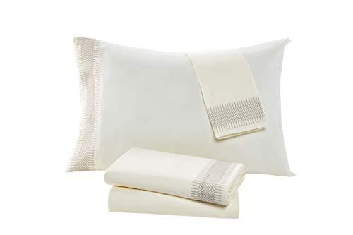 cb8b3831b2a VCNY Home Carlina 4 Piece Sheet and Pillowcase Set