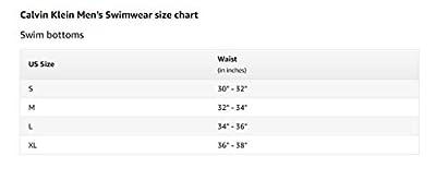 Calvin Klein Men's 5 inch Elastic Waist Swim Trunk, Deep Malibu, XXL