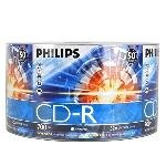 Philips 52x 700MB 80-Minute CD-R Media 50-Piece Pack by Philips