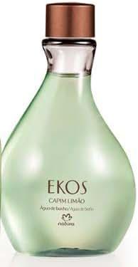 Natura - Linha Ekos (Capim Limao) - Agua de Banho 200 Ml - (Natura - Ekos (Lemon Grass) Collection - Eau De Cologne 6.76 Fl Oz)