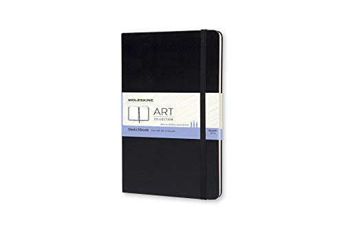 Moleskine Art Plus Hard Cover Sketchbook, Plain, Large (5