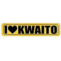 - I LOVE Kwaito - Music - Street Sign [ Decorative Crossing Sign Wall Plaque ]